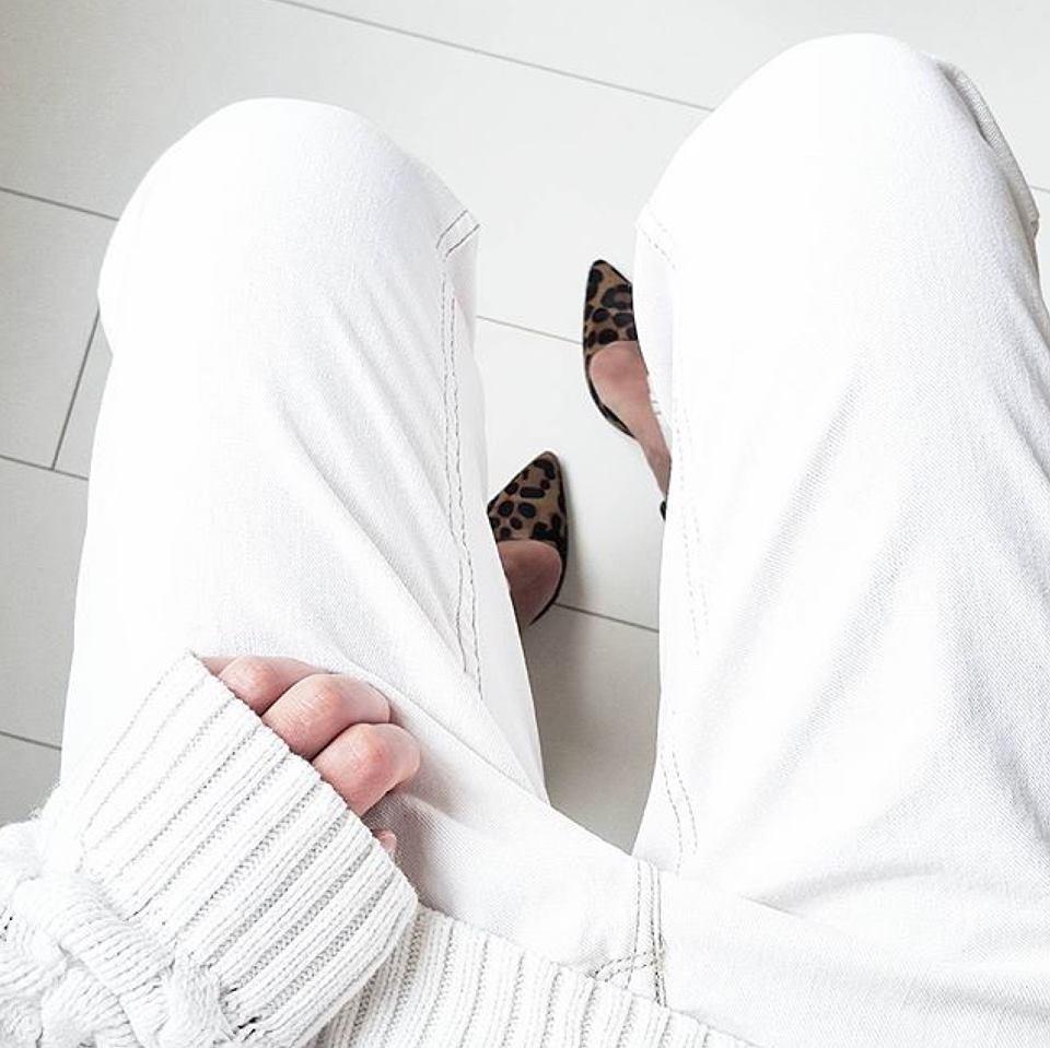 Craquez pour le boyfriend Jenny en version blanc !