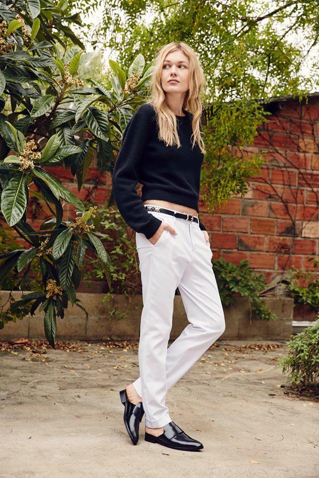 Pour votre tenue du jour, optez pour le mix black & white avec notre modèle Agate !